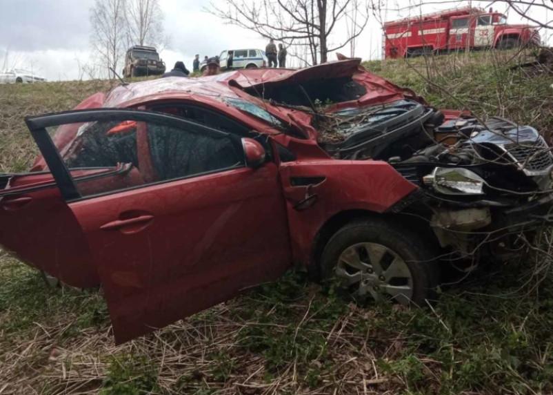 В Краснинском районе в результате ДТП пострадал человек