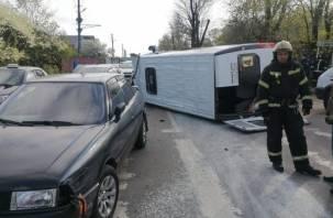 Информацию о пострадавших в ДТП с маршруткой в Смоленске родные могут узнать по телефону