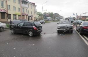 Подробности массового ДТП с пятью машинами в Смоленске