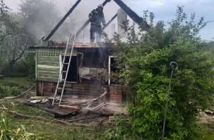 Погибла женщина. Подробности пожара в Смоленске