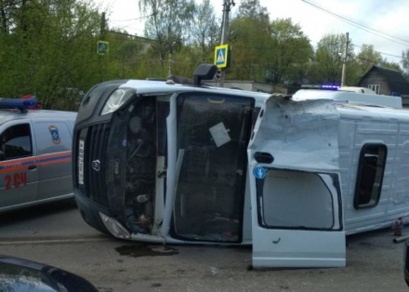 Прокуратура проводит проверку по факту ДТП с маршрутным такси в Смоленске