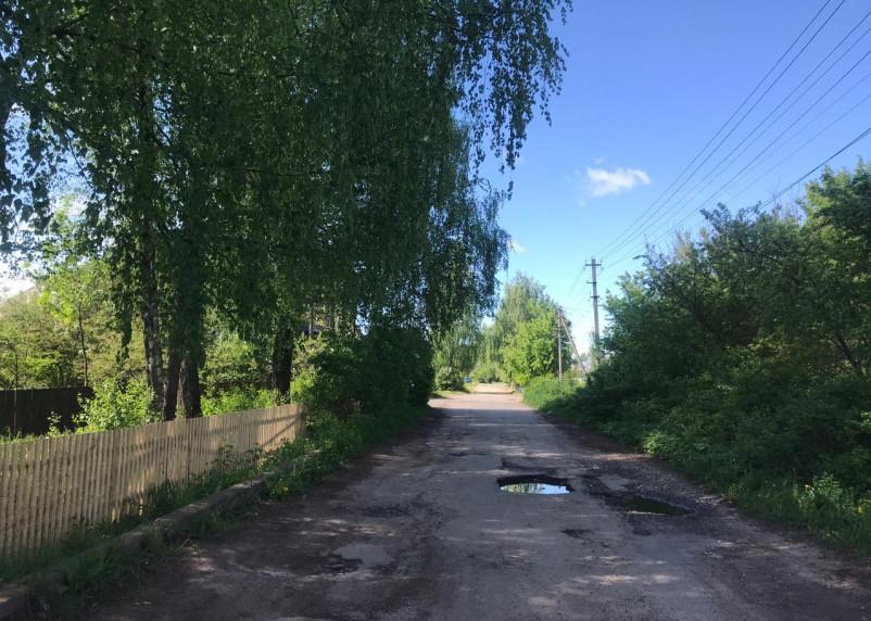 Дорожная инфраструктура трех улиц Смоленска оставляет желать лучшего