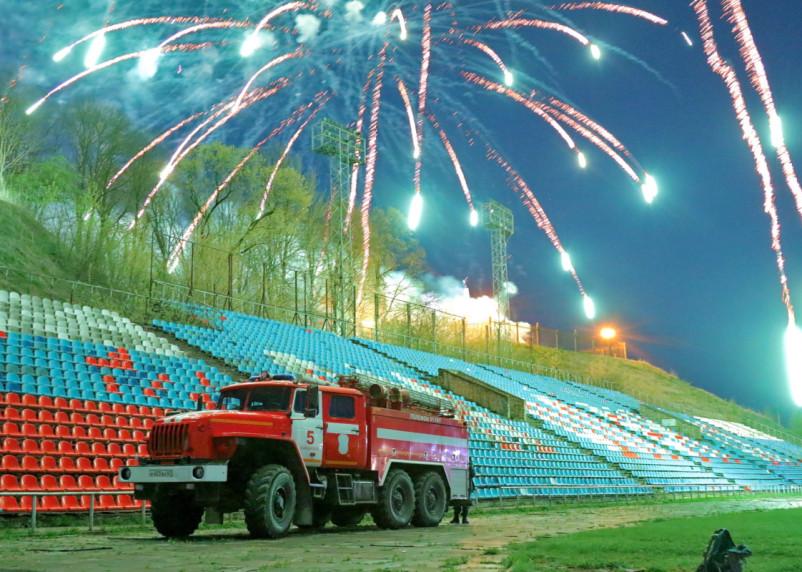 Праздничные фейерверки в Смоленской области прошли без возгораний