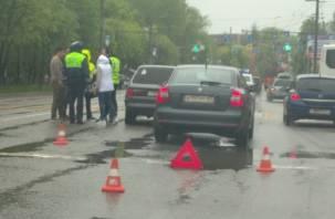 В Смоленске ДТП на Кирова спровоцировало пробку