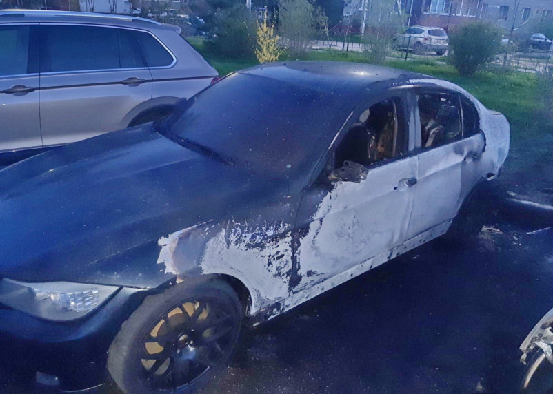 В Смоленской области сгорели 36 автомобилей