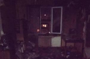 80-летняя бабушка не растерялась. Ее внучка устроила пожар в квартире в Смоленске