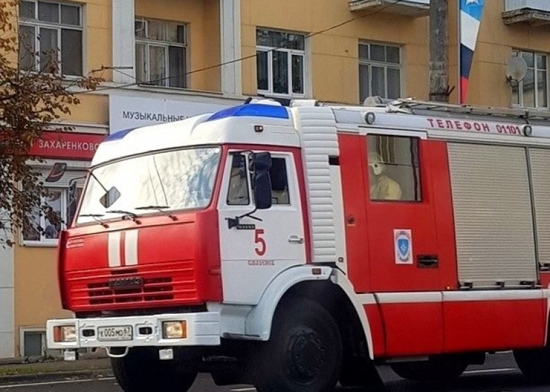 В Смоленском районе вечером 16 мая горела баня