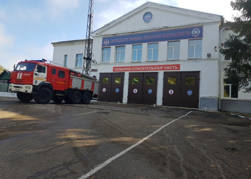 В Смоленской области менее чем за час произошли два пожара