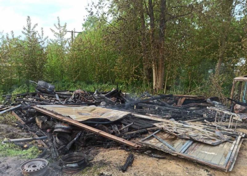Жителей Гагаринского района напугало яркое зарево