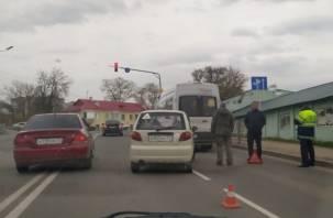 В Смоленске ДТП на Витебском шоссе спровоцировало пробку
