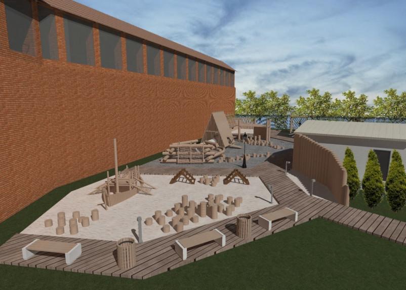 В Смоленске предложили концепцию осадного городка у крепостной стены