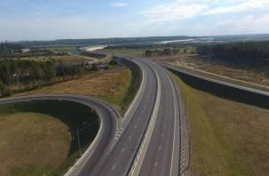 Вдоль трасс в Смоленской области будут освещены пешеходные переходы и автобусные остановки