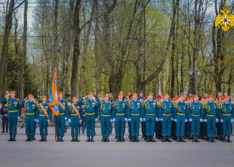 В Смоленске прошла генеральная репетиция Парада Победы