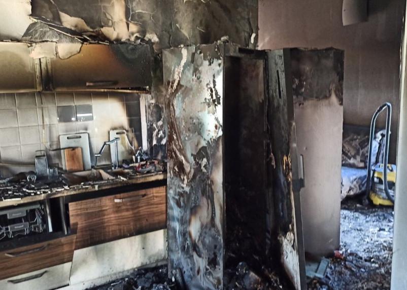 В Смоленском районе загорелся дом. Погибла собака