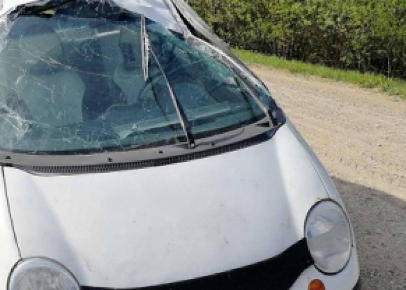 В Кардымовском районе в ДТП с Матизом пострадал человек