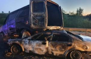 Подробности трагического ДТП с возгоранием машины