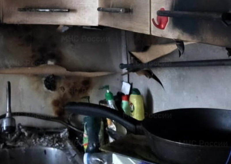 Житель Смоленска едва не спалил квартиру во время уборки