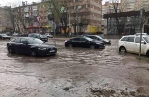 Власти Смоленска попытались объяснить проблемы улицы Николаева