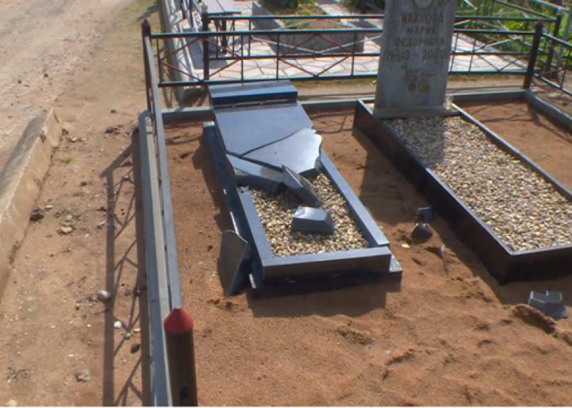 Смолянин, разгромивший памятники на кладбище, предстанет перед судом