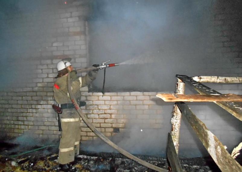 Мужчина погиб в результате пожара в Смоленской области