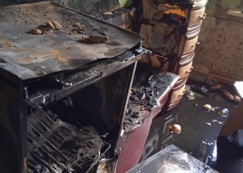 9-летний сын спас отца из пожара в Смоленской области