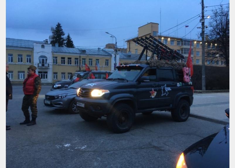 В Смоленск доставлена частица «Огня Победы»