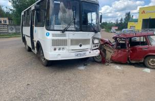 В Вязьме ищут свидетелей ДТП с автобусом, в котором пострадали два человека