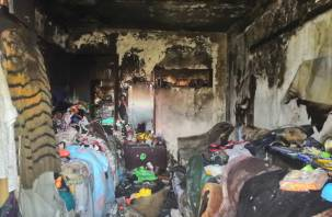 В Ярцеве в пожаре погибла женщина