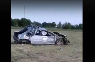 Два человека погибли в ДТП в Гагаринском районе