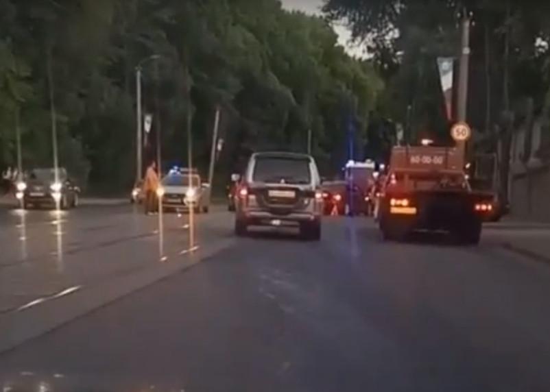 Последствия массовой аварии в Смоленске сняли на видео