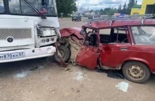 Смоленские следователи организовали проверку по ДТП с пассажирским автобусом в Вязьме