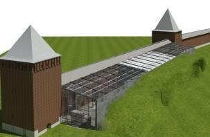 В Смоленске в крепостной стене может появиться выставочный центр