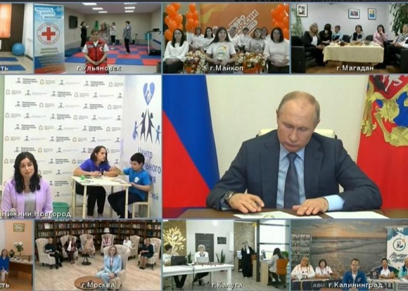 Путин пообещал соцработникам госнаграды