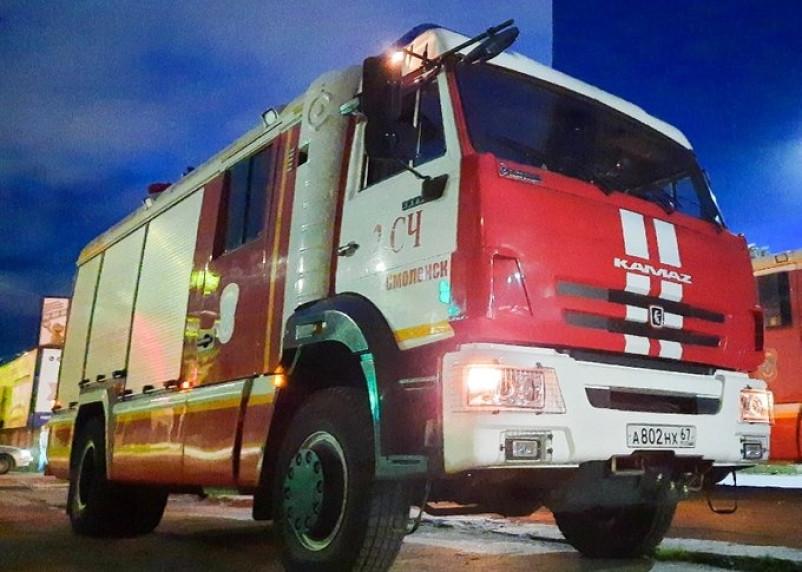 В Смоленском районе огонь уничтожил Ford Maverick