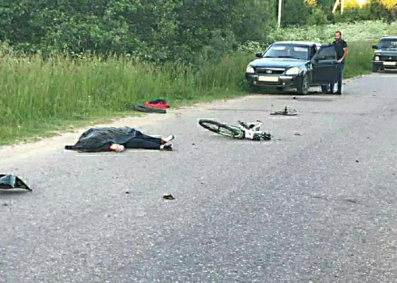Сбил велосипедистку и скрылся. В Рославльском районе произошло ДТП со смертельным исходом