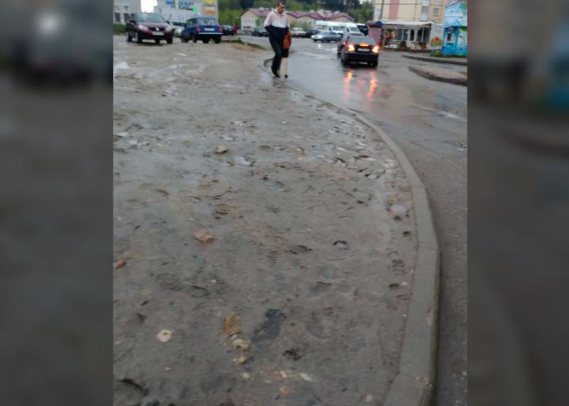Пешеходов в смоленском микрорайоне Королевка сделали «людьми второго сорта»