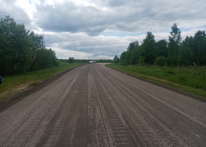 Смоленскавтодор завершил фрезерование двух участков дороги Смоленск-Вязьма-Зубцов