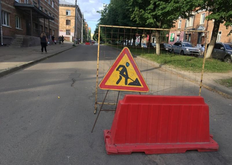 Забор есть, работы нет. В Смоленске ПАО «Квадра» осложнила жизнь автомобилистам