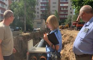 В Смоленске сорваны сроки выполнения ремонтных работ магистральных тепловых сетей