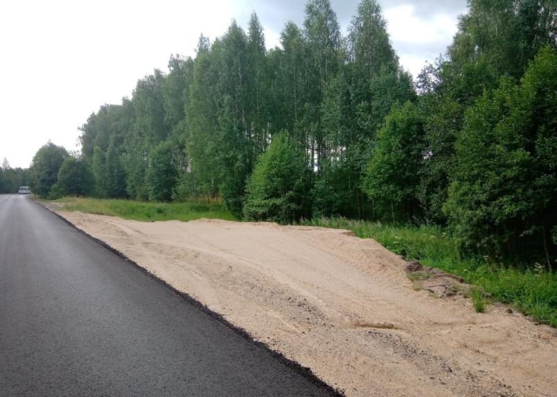 Пешком по обочине. Ремонт дороги обернулся неудобством для жителей Смоленского района
