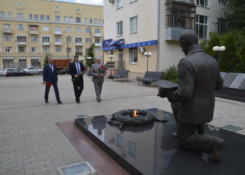 Начальник Управления на транспорте МВД России по ЦФО посетил Смоленск