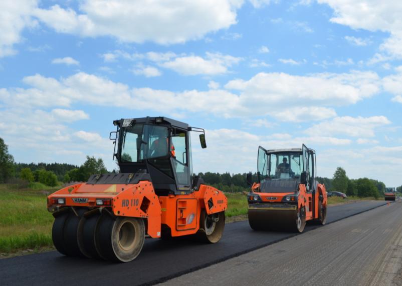 В Смоленском районе идет ремонт дорог в рамках нацпроекта