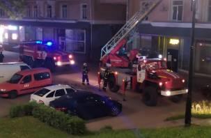 Бдительная смолянка спасла соседку при пожаре