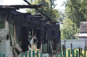 «Баня из старого сарая – с бойлером». Названа предварительная причина пожара в Починке, где погибли пять детей