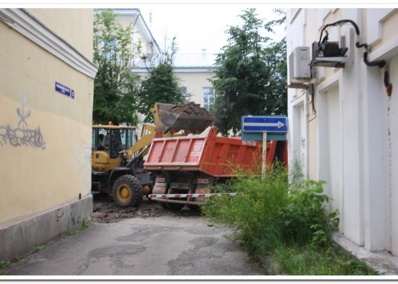 Пешком по Маяковского: как продвигаются работы по ремонту улиц в центре Смоленска