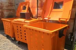 Еще 150 специальных контейнеров для мусора закупили в Смоленской области