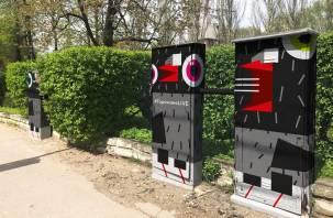 Колористика с вопросом, или почему не раскрасить телефонные шкафы?