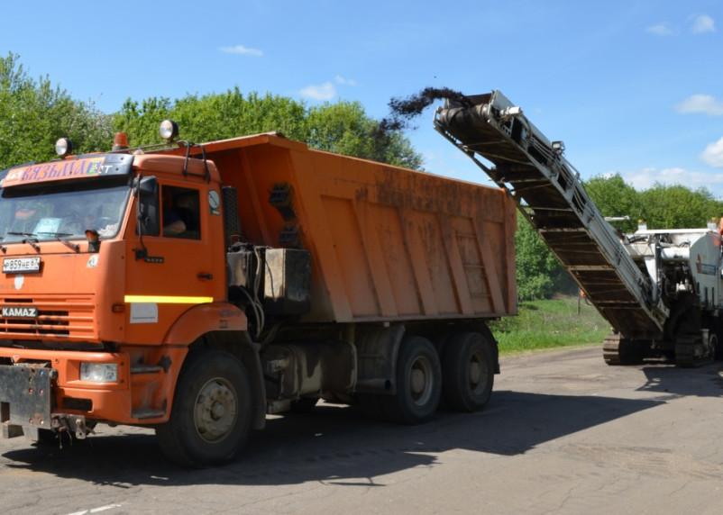 Смоленскавтодор приступил к ремонту дороги Вязьма-Темкино