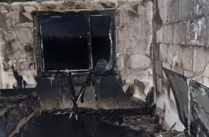 «Могли пострадать люди». Семь взрослых и пять детей эвакуировали в Гагарине