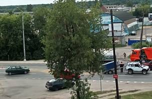 В Смоленске произошло жёсткое ДТП